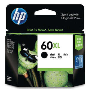 HP 60XL Black Ink Cartridge CC641WA