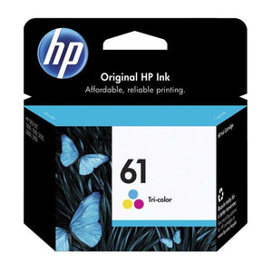 HP 61 Tri Colour Ink Cartridge CH562WA
