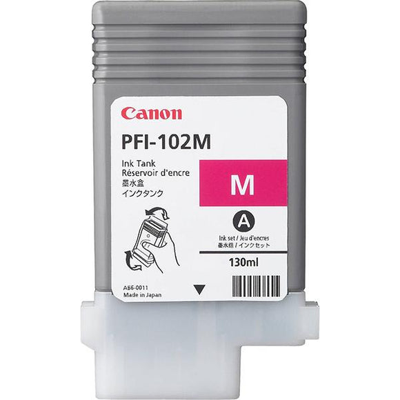 Canon PFI 102M Magenta Ink Cartridge