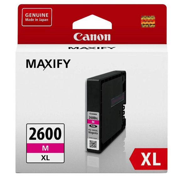 Canon PGI 2600XL Magenta Ink Cartridge PGI2600XLM at $37.57