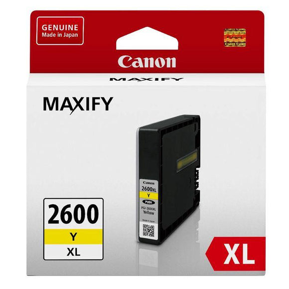 Canon PGI 2600XL Yellow Ink Cartridge