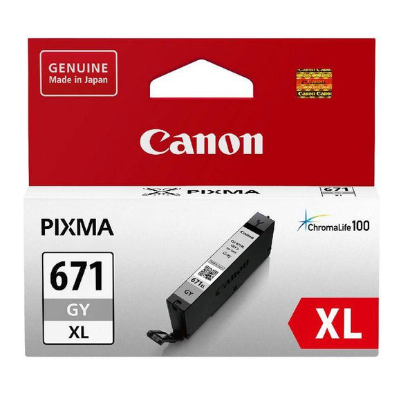 Canon CLI 671XL Grey Ink Cartridge