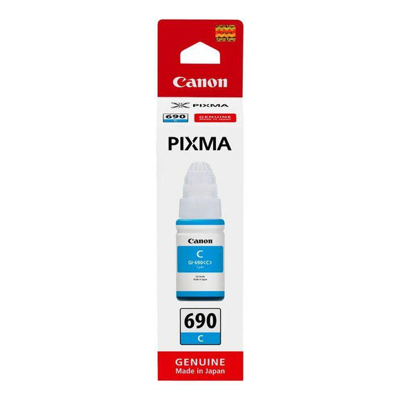 Canon GI 690 Cyan Ink Bottle