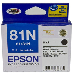 Epson 81N HY Black Ink Cartridge