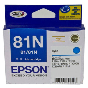 Epson 81N HY Cyan Ink Cartridge