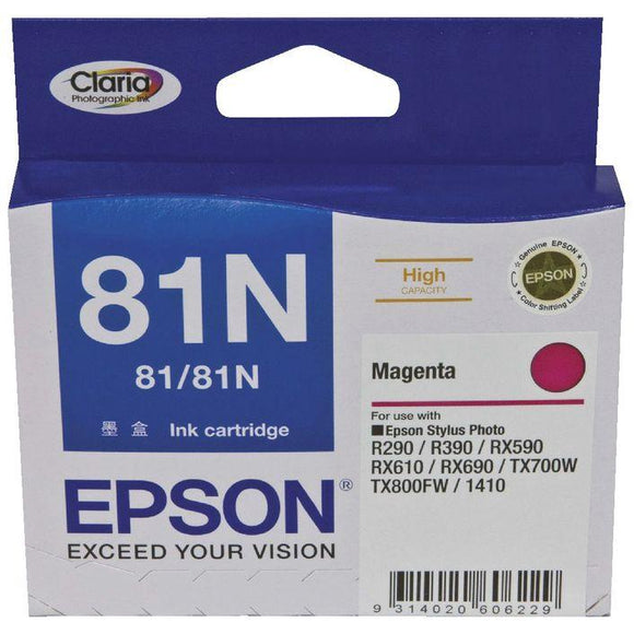 Epson 81N HY Magenta Ink Cartridge