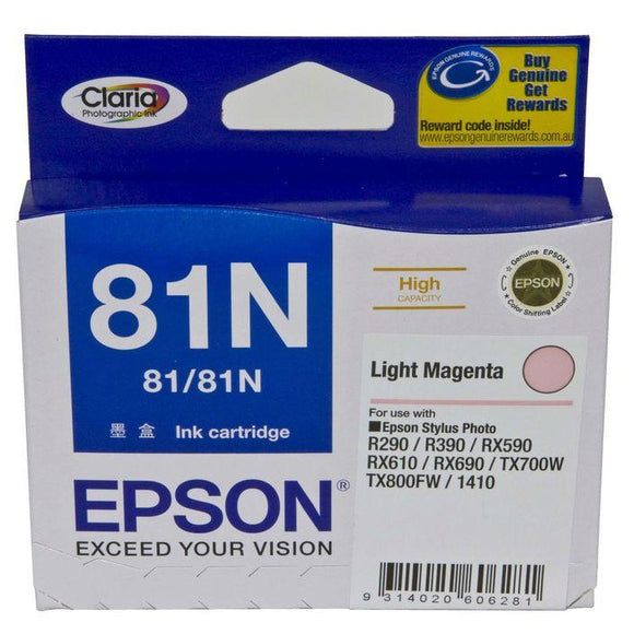 Epson 81N HY Light Magenta Ink Cartridge