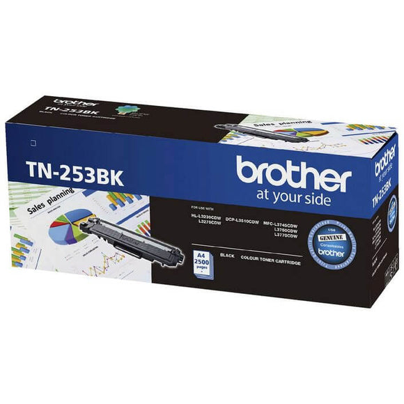 Brother TN-253 Black Toner TN-253BK TN-253BK at $147.94