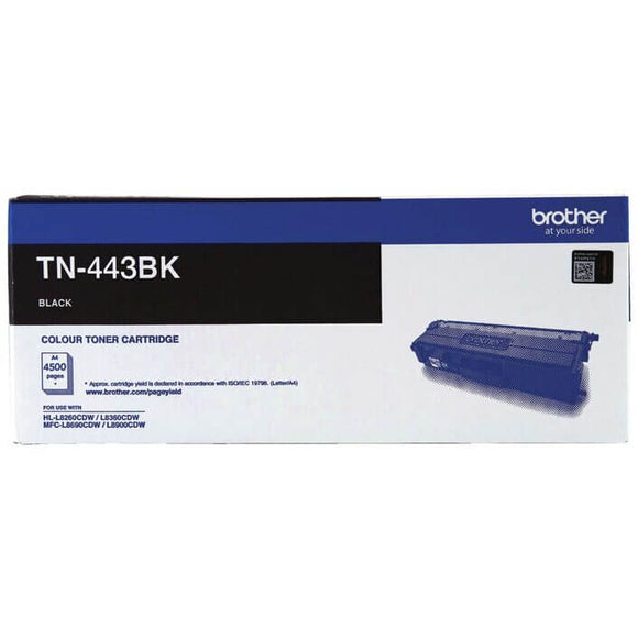Brother TN-443 Black Toner TN-443BK TN443BK at $170.04