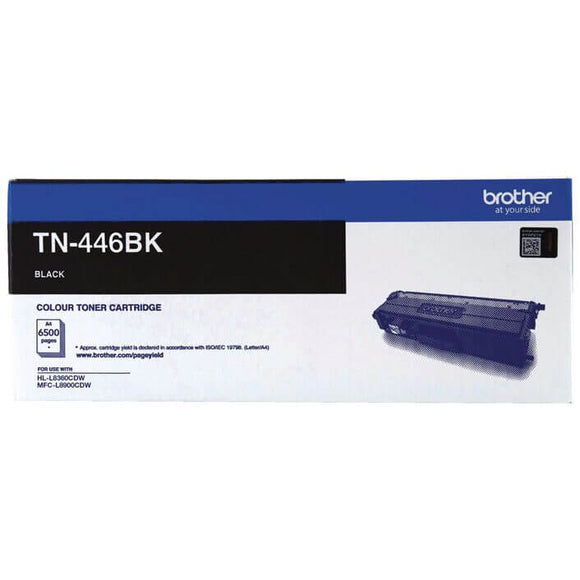 Brother TN-446 Black Toner TN-446BK TN446BK at $177.49
