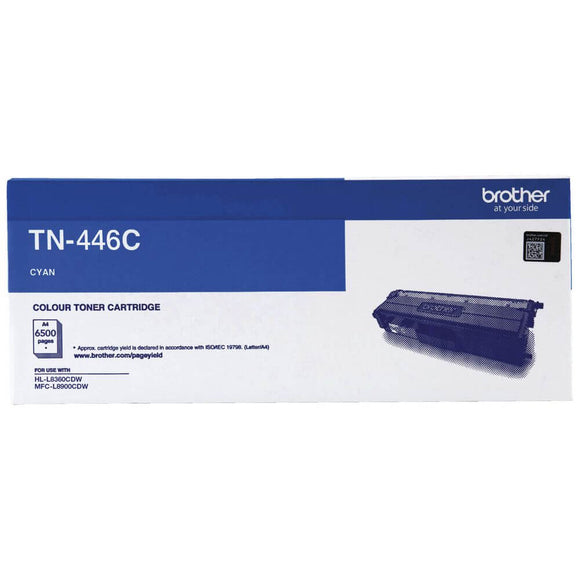 Brother TN-446 Cyan Toner TN-446C TN446C at $394.63