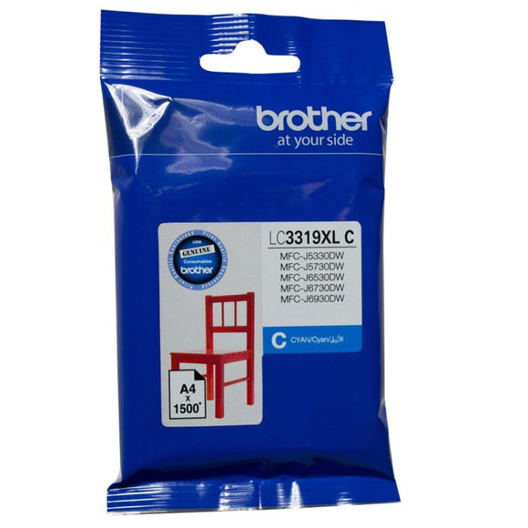 Brother LC-3319XL Cyan Ink Cartridge LC-3319XLC