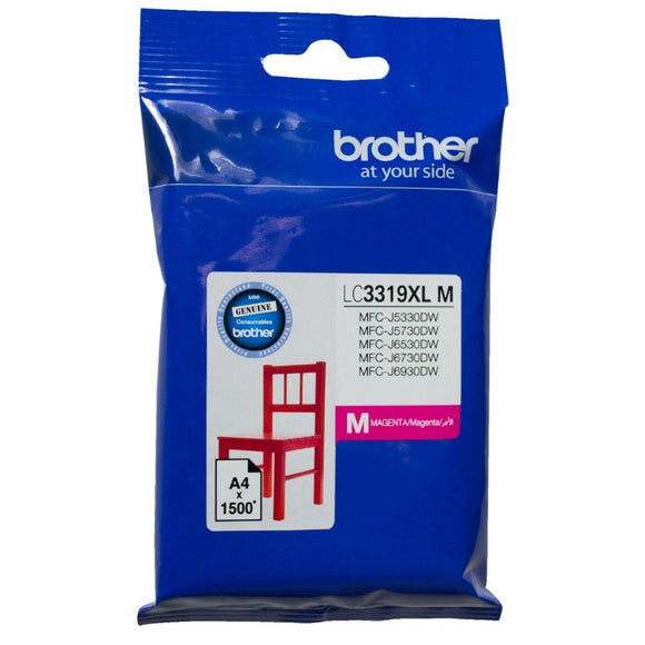 Brother LC-3319XL Magenta Ink Cartridge LC-3319XLM