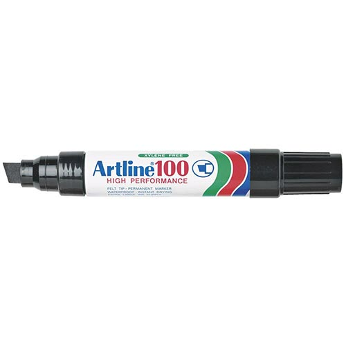 Artline 100 Jumbo Permanent Marker Black 6 Pack EK100-BLACK at $26.35