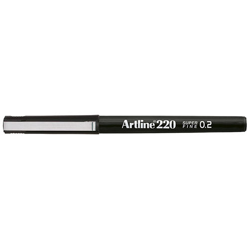 Artline 220 Fineliner Black 12 Pack EK220-BLACK at $20.95