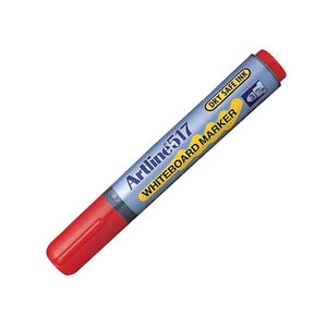 Artline 517 Drysafe Whiteboard Markers Red 12 Pack EK517-RED at $23.95