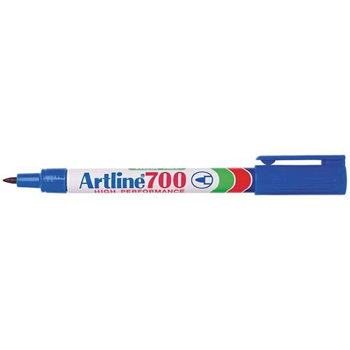 Artline 700 Permanent Marker Blue 12 Pack