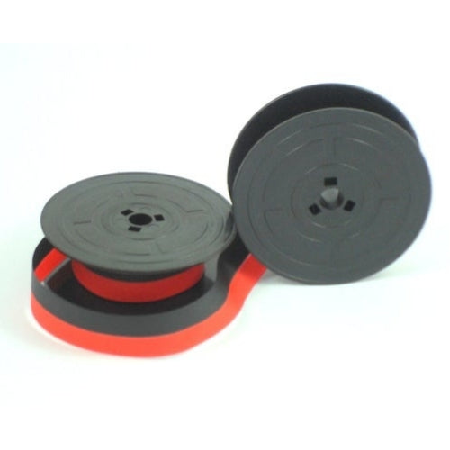 Compatible Group 4 Twin Spool Black/Red Typewriter Ribbon