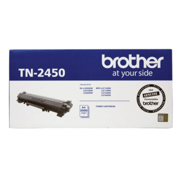 Brother TN-2450 Genuine Black Toner Cartridge