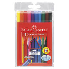 10-Grip Color Markers