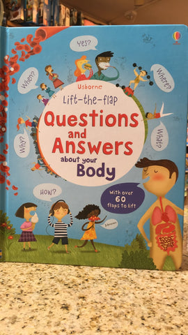 Lift-the-flap book: Questions and Answers about your Body