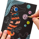 Scratch and Scribble Mini Scratch Art Kit - Friendly Fish