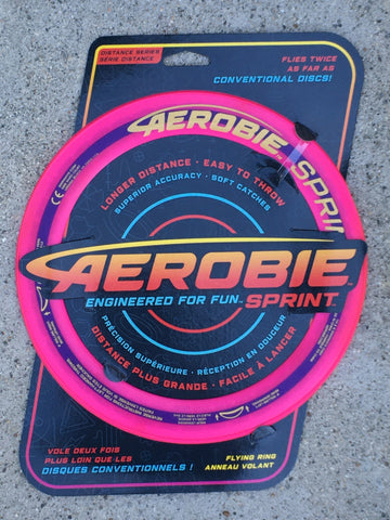 "Aerobie Flying Ring 10""  - pink"