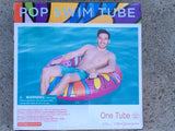"POP Art Swim Tube 47"" with handles"