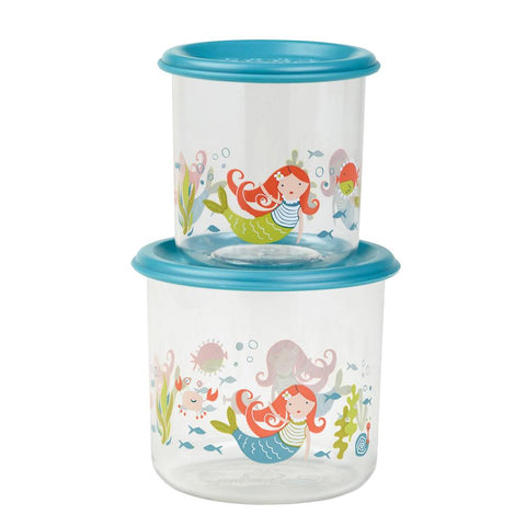Snack Containers - Large - Isla the Mermaid