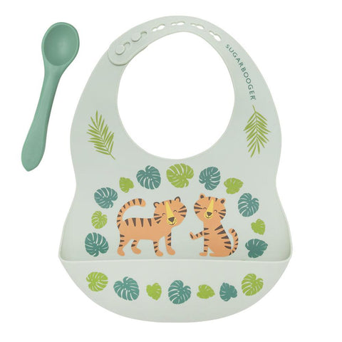 Bib & Spoon Set - Tiger