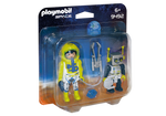 Playmobil 9492 Astronaut & Robot Duo Pack