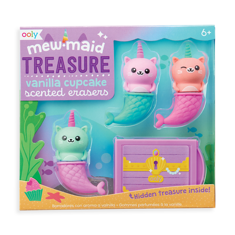 Erasers - Mew-Maid Treasure Scented Erasers