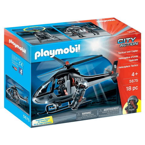 Playmobil 5675 - Tactical Unit Copter