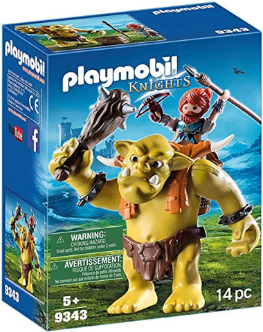Playmobil 9343 - Knights Giant Troll
