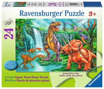 Puzzle Super Sized - Dinosaurs