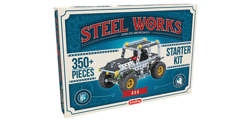 Steel Works Construction Set - Jeep