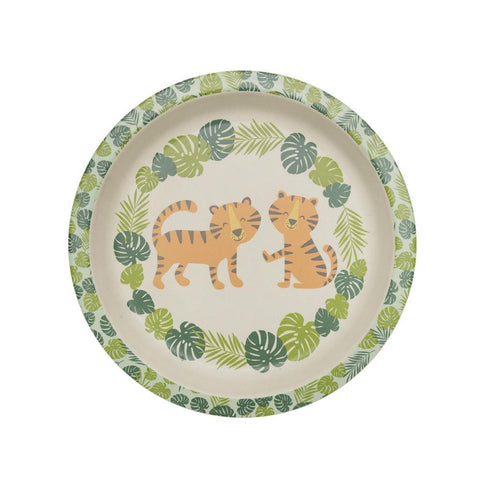 Bamboo Mini Plate - Tiger