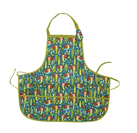 Kiddie Apron - Isla the Mermaid