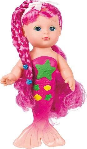 Magical Mermaid Doll - Pink