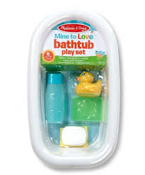 Doll Bathtub Play Set