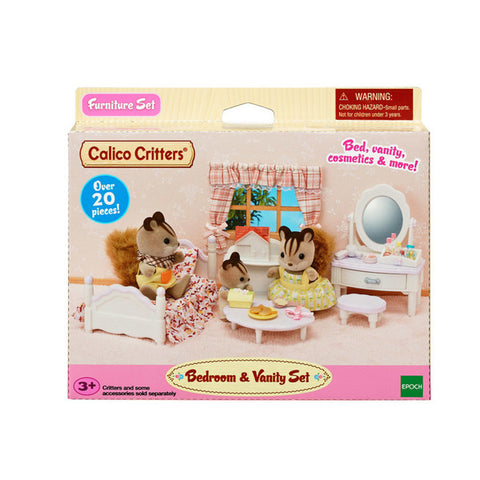 Calico Critters - Bedroom and Vanity Set