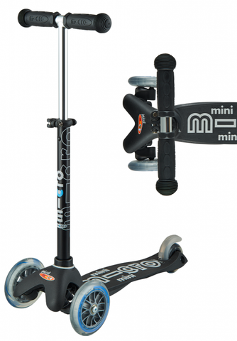 Mini Deluxe Scooter  - Black - CURBSIDE PICK-UP ONLY