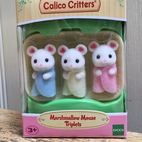 Calico Critter Mice Triplets