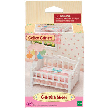 Calico Critters -  Crib With Mobile