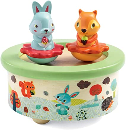 Friends Melody Wood Music Box