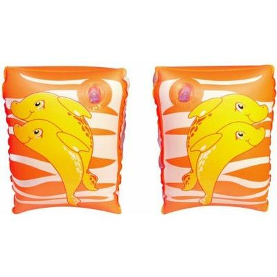 Dolphin Armbands - peach/orange