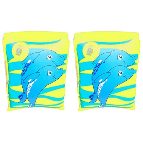 Dolphin Armbands - blue/green
