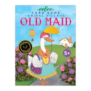 Old Maid Card Game - Animal Village
