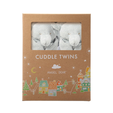 Cuddle Twins - Grey Elephants