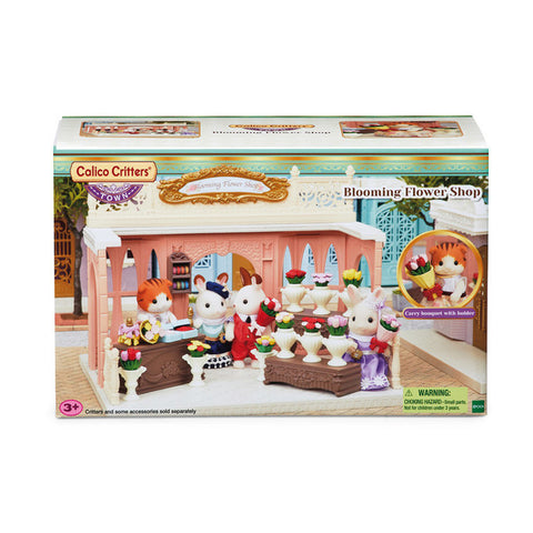 Calico Critters - Blooming Flower Shop